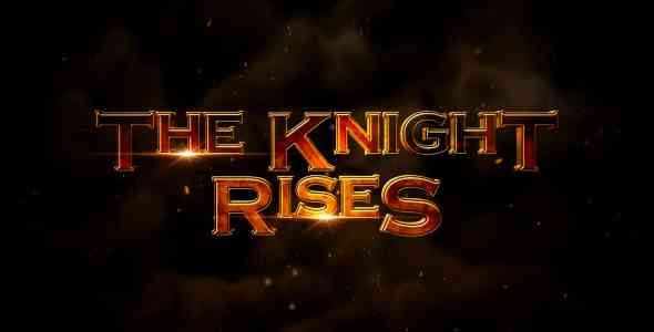 Videohive The Knight Rises - Cinematic Trailer 3345066
