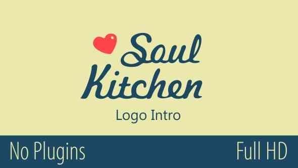 Videohive Soul Kitchen Logo Intro 14484085