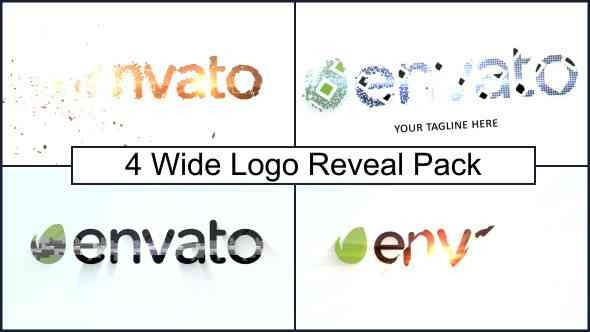 Videohive Wide Logo Reveal Pack 7045874