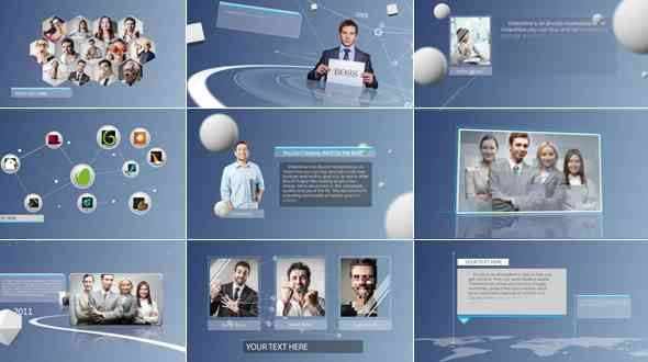 Videohive Clean & Simple Corporate Presentation 8182775
