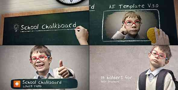 Videohive School Chalkboard V.3.0 4228561