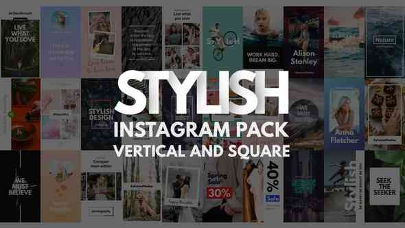 Videohive Instagram Stories Pack | Vertical and Square 21692676