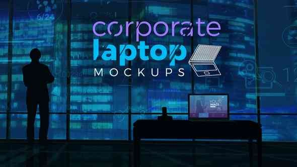 Videohive Corporate Laptop Mockups 21807560