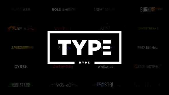 Videohive TypeHype - Titles Animation  Motion Typography Text v.1.2 21810845