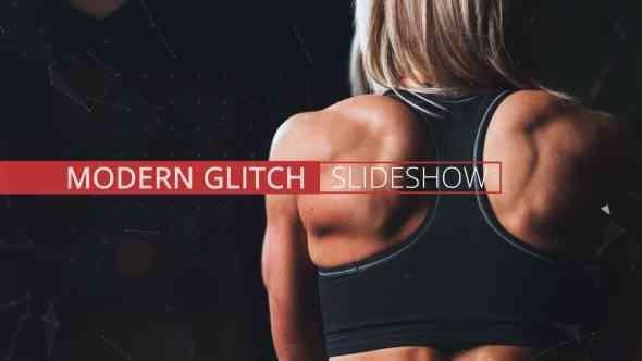 Videohive Modern Glitch Slideshow 17117204