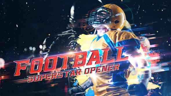 Videohive Football Superstar Opener 21583697