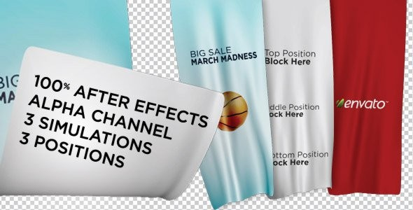 Videohive Unfolding Banners 1763330