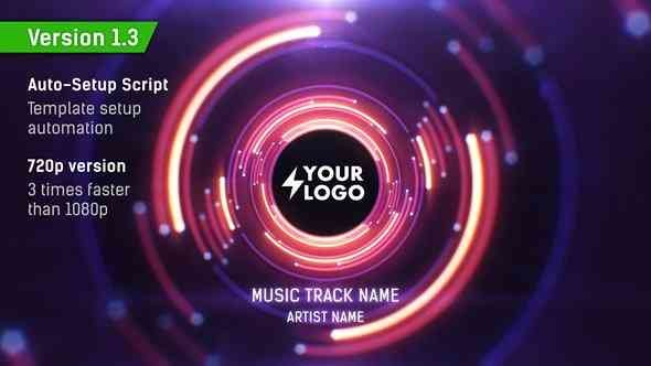 Videohive Audio React Tunnel Music Visualizer v1.3 11934574