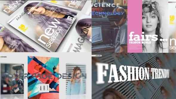 Videohive Magazine Promo 21162885