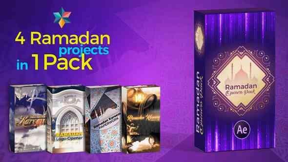Videohive Ramadan Openers Pack 21866017