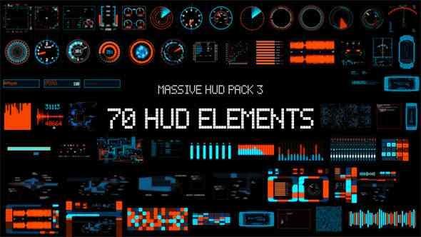 Videohive Massive HUD Pack 3 8070978