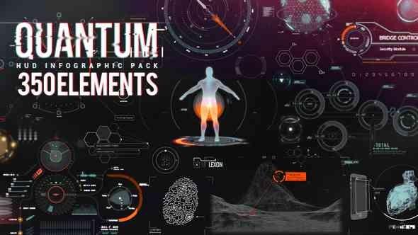 Videohive Quantum HUD Infographic V2.1 8678174 Updated 17 April 2018