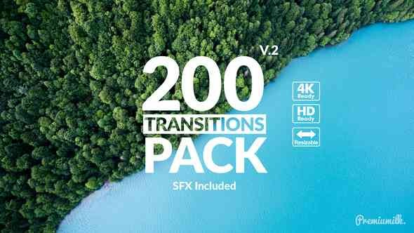 Videohive Transitions Pack 21721120