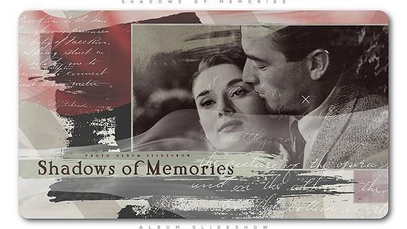 Videohive Shadows of Memories Album Slideshow 21375400