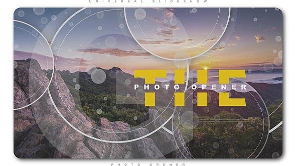 Videohive Universal Slideshow Photo Opener 21354257