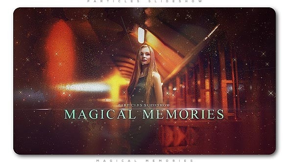 Videohive Particles Slideshow Magical Memories 20990905
