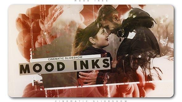 Videohive Mood Inks Cinematic Slideshow 21266771