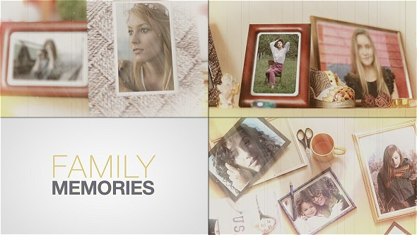 Videohive Old Cinema Memories 17156766