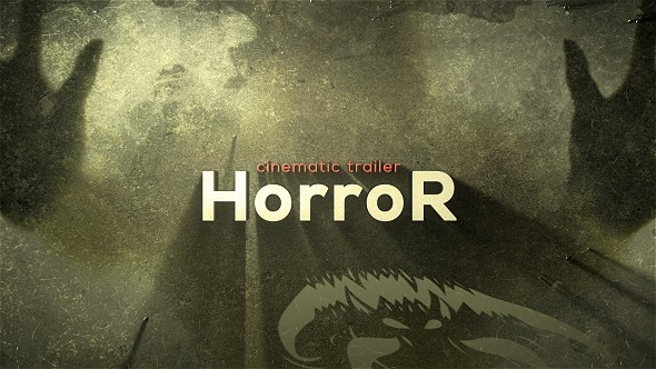 Videohive The Horror Cinematic Trailer 17929594