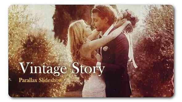 Videohive Retro Vintage Parallax Slideshow 19077631