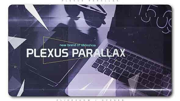 Videohive Plexus Parallax Slideshow | Opener 20689393