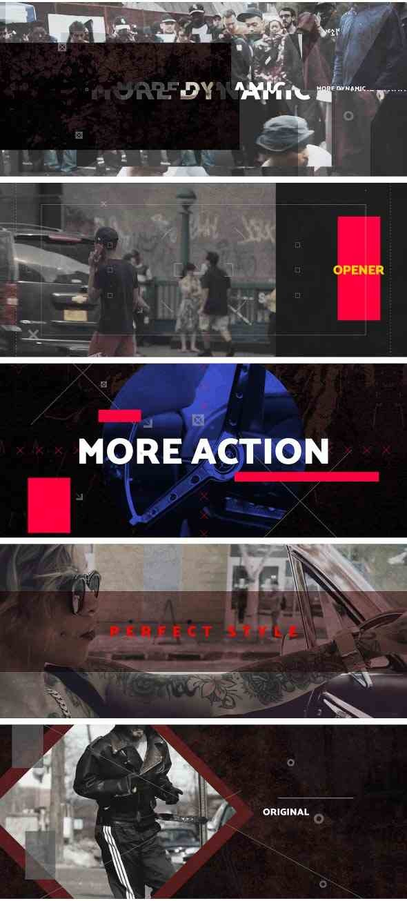 Videohive Urban Clash Cinematic Media Opener 20975494