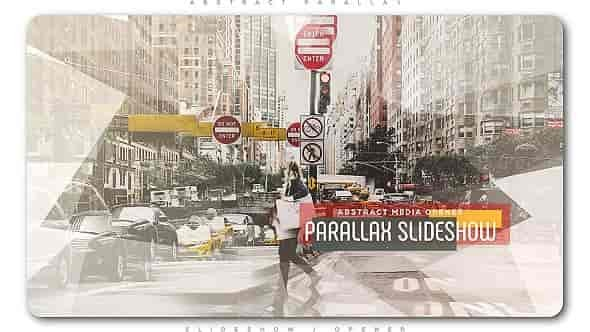 Videohive Abstract Parallax Slideshow / Opener 20211725