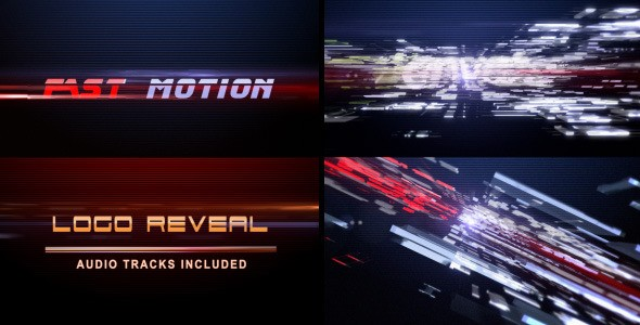 Videohive Fast Motion (Logo Reveal) 2297960