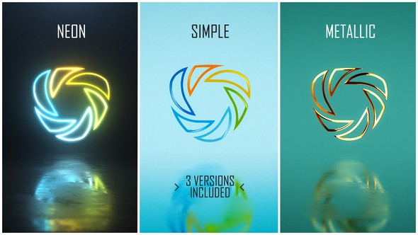 Videohive Minimal Logo Pack (3 versions) 21833824