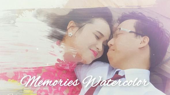 Videohive Memories Watercolor 20082987