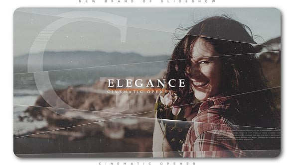 Videohive Elegance Cinematic Opener | Slideshow 20668017