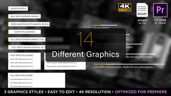 Videohive Newsworthy Titles | MOGRT for Premiere Pro 21879677