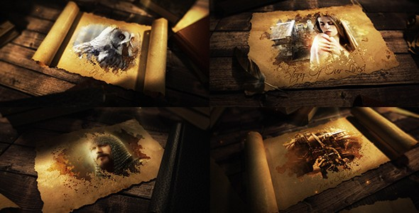 Videohive Ancient Epic Scroll 20994228