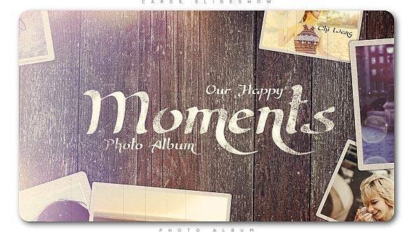 Videohive Happy Moments Slideshow 20452158