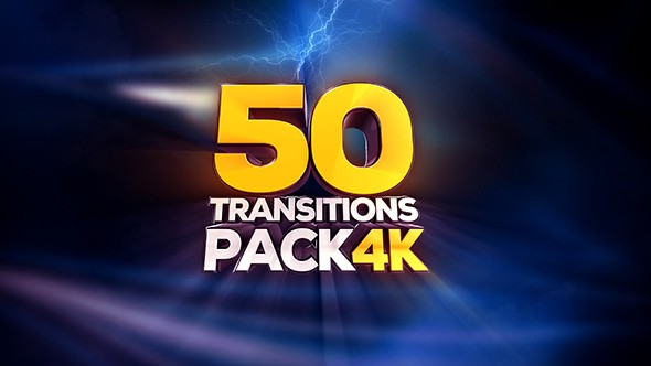 Videohive Transitions Pack - 4K 19155655