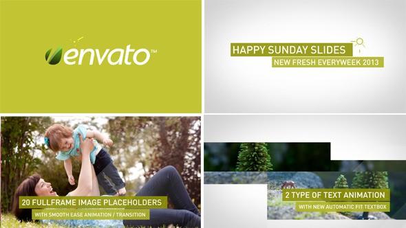 Videohive Happy Sunday Slides 4632846