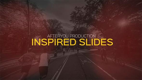 Videohive Inspired Slideshow 16281855