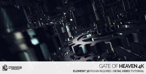 Videohive Gate Of Heaven 4K 20890079