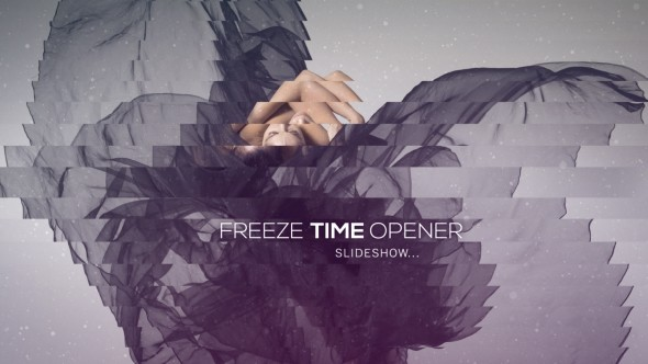 Videohive Freeze Time Opener - Slideshow 12692699