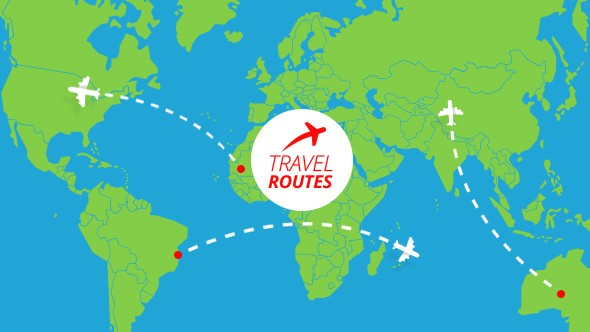Videohive Travel Routes Maker 16536530