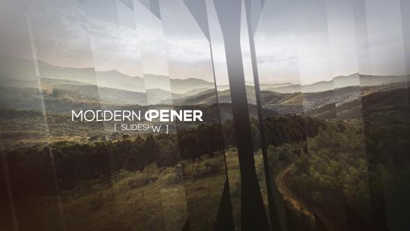 Videohive Modern Opener - Slideshow II 19115070