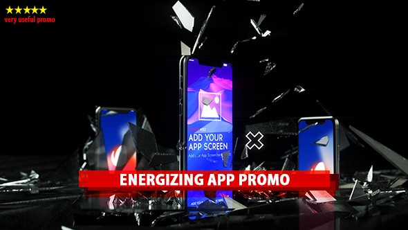 Videohive Energizing App Promo 21191393
