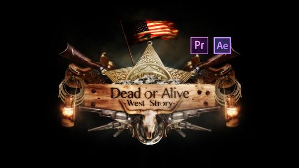 Videohive Epic Dead or Alive Logo 21841763