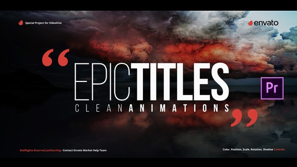 Videohive Epic Titles for Premiere 21874438