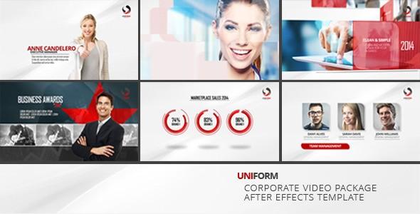 Uniform - Corporate Video Package 8599123 - Videohive shareDAE
