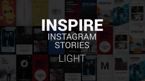Videohive Inspire Instagram Stories Light 21688219