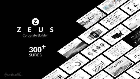 Videohive Zeus Corporate Builder 21794132