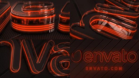 Videohive Neon Logo Reveal Element 3D 22025605