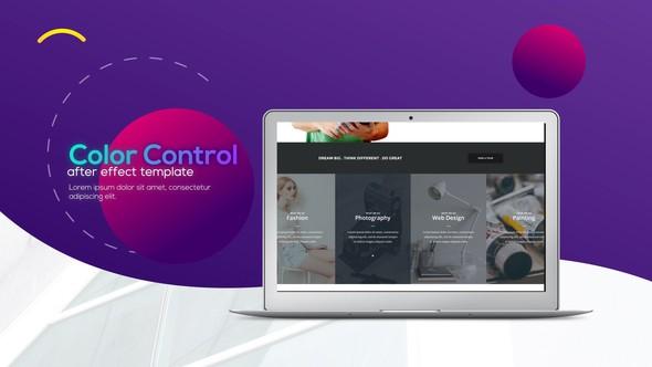 Videohive Trendy Minimalistic Web Promo 20875666