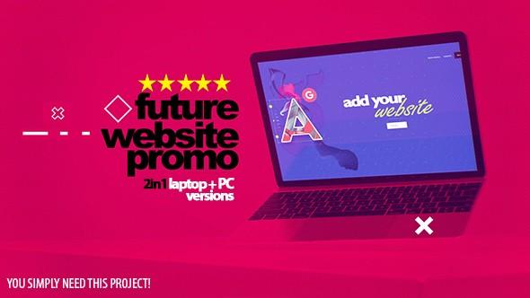 Videohive Future Website Promo 2in1 21577859